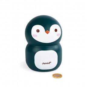 Tirelire Pingouin (bois)