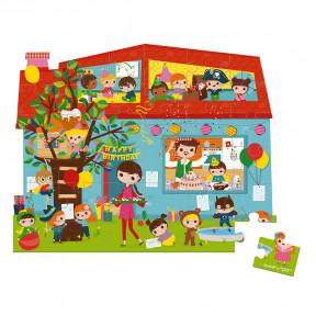 Valisette Puzzle anniversaire 36 pcs