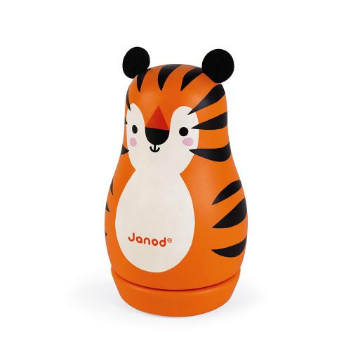 Boite à musique Tigre (bois)