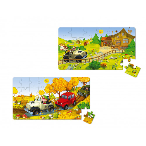 Lovely Puzzles - 4x4 Jack - 2 puzzles