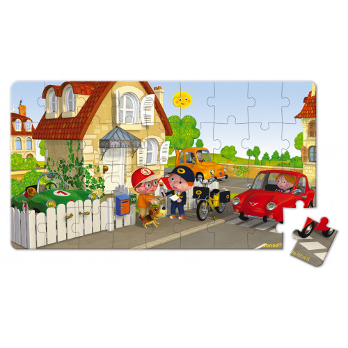 Lovely Puzzles - Vélo Matteo - 2 puzzles