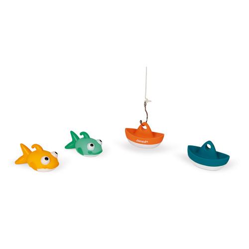 CX TECH Juego de Juego de Pesca Mini Juguetes para el ba/ño Agua Jugar Diversi/ón Para/íso M/úsica Mesa de Agua Patos flotantes