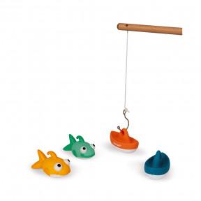 Badespielzeug Angel-Set 4 Teile