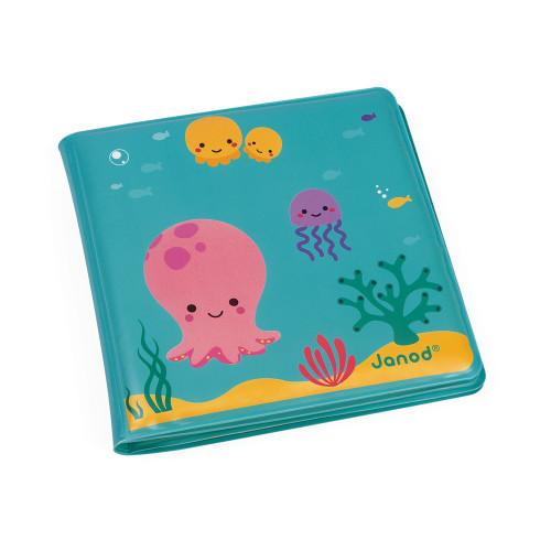 Livre de bain magique, éveil bébé, animaux, pour enfant à partir de 10 mois JANOD