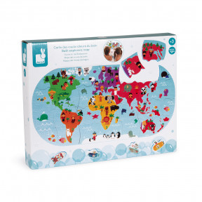 Puzzle Carte des Explorateurs du bain
