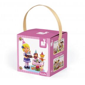 Puzzle Juliette Feiert Geburtstag 2 Motive in Box