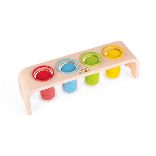 Le tri des couleurs - essentiel en bois, éducatif, éveil, logique, pour enfant à partir de 2 ans JANOD