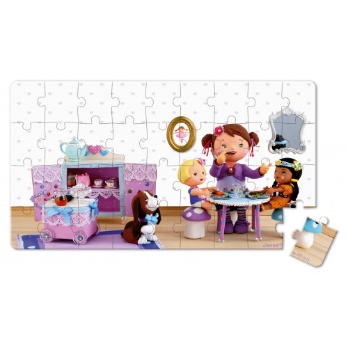 Lovely Puzzles - Lola Dinette - 2 puzzles