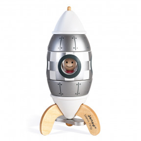 Silver Magnetic Rocket kit