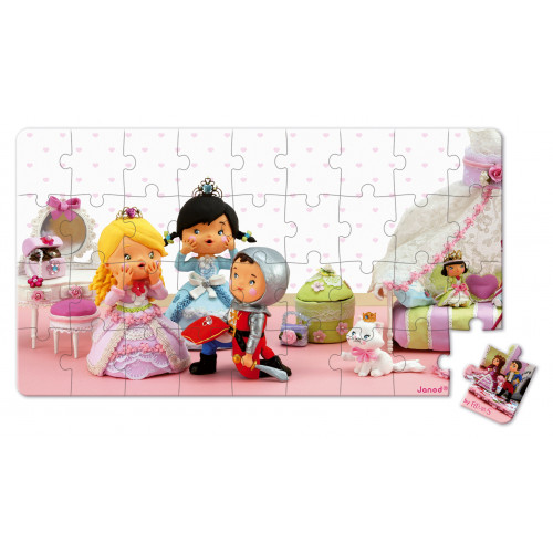 Lovely Puzzles - Rose Princesse - 2 puzzles