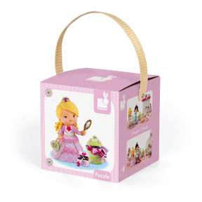 Puzzle Rose, Die Prinzessin 2 Motive in Box