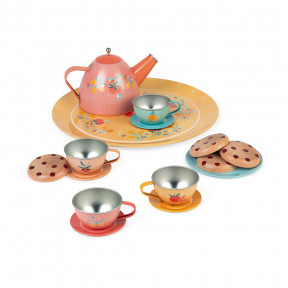 Tee-Service (Metall) 15 Teile