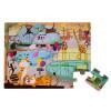 Haptik-Puzzle Im Zoo 20 Teile