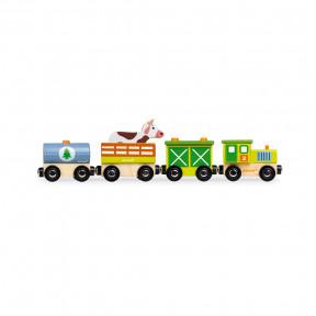 Train Ferme Story (bois)