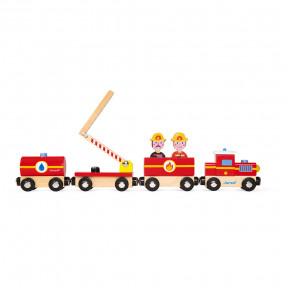 Train Pompiers Story (bois)