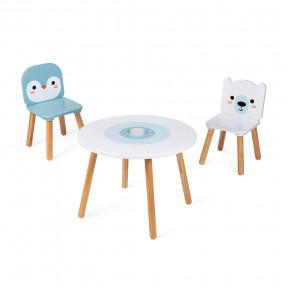 """Tisch- und Stuhlset """"Arktis"""" 3-teilig"""
