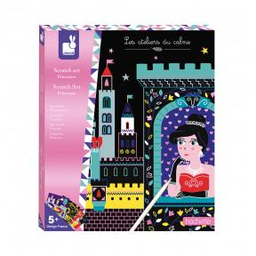 Kit Créatif - Scratch Art Jolies Princesses