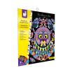 Kit Créatif - Scratch Art Mandalas Animaux