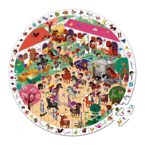Puzzle Observation Au Galop 208 pcs