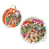 Round Observation Puzzle Galloping Horses 208 pieces