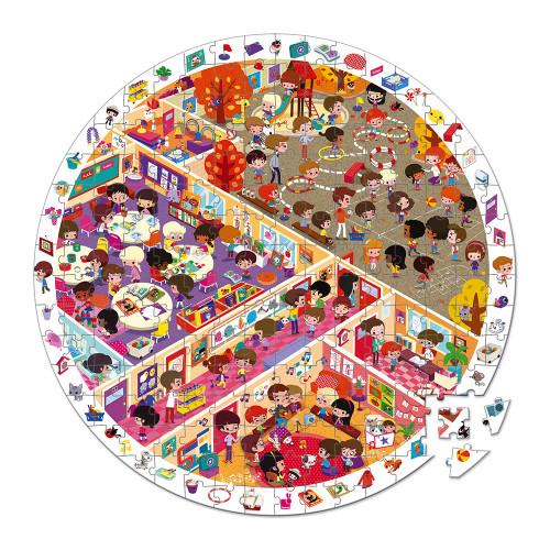 Puzzle Observation L'école 208 pcs