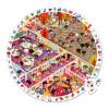Puzzle di Osservazione Rotondo Viva la Scuola 208 pezzi