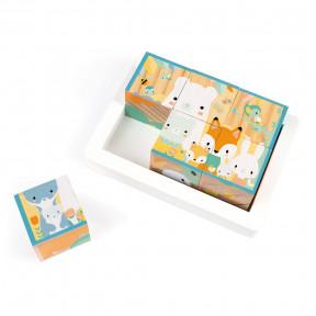 Barquette 6 Cubes Pure (bois)