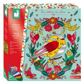 Purpurina Y Pan De Oro Pájaros