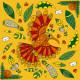 Kit Créatif - Paillettes et Dorures Oiseaux