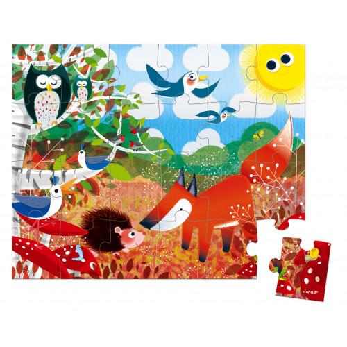 Valisette Puzzle Forêt 24 pcs