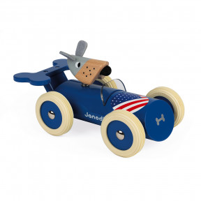 Spirit Steve Rennwagen Blau (Holz)