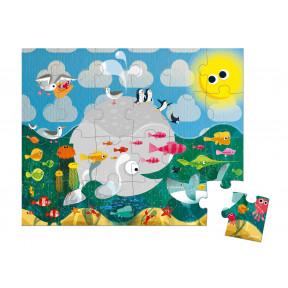 Valisette Puzzle Océan 24 pcs