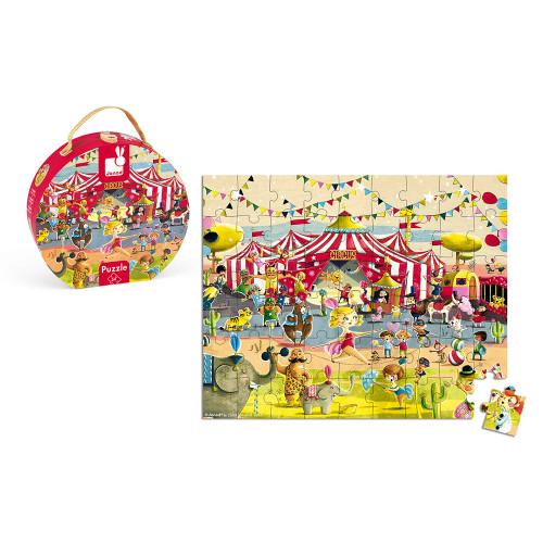 Valisette Puzzle Cirque 54 pcs