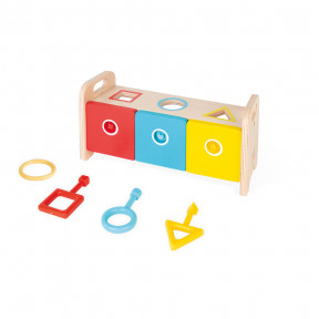 Essentiel - Shape Sorter Box with Keys