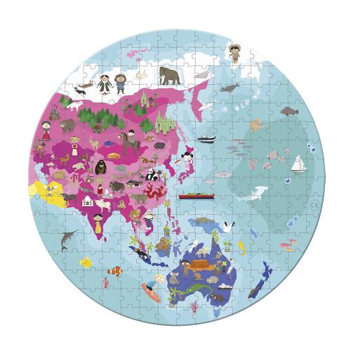 Valisette Puzzle 'Planète Bleue' 208 pcs