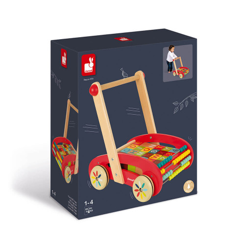 Chariot ABC Buggy Tatoo - 30 cubes (bois)