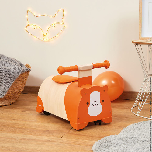 Porteur multidirectionnel Hamster (bois)