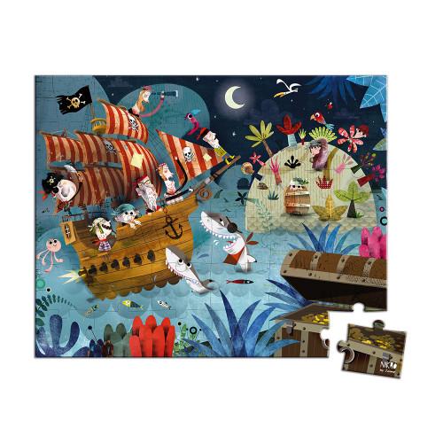 Valisette Puzzle chasse au trésor 36 pcs