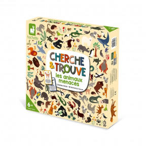 Seek-and-Find Endangered Animals Game - In French Only