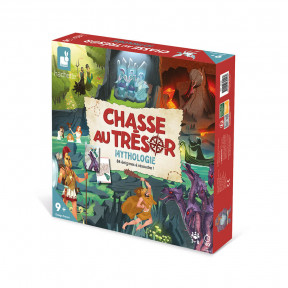 Mythical Treasure Hunt Game - In French Only
