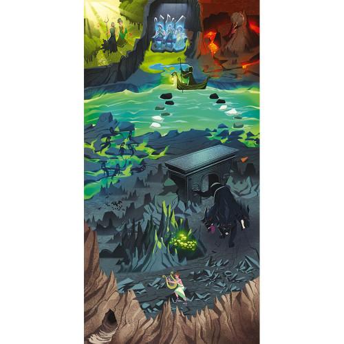 Jeu chasse au trésor Mythologie, jeu de société, éducatif, histoire aventure et quête, pour enfant à partir de 9 ans JANOD
