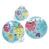 Maletín Redondo : Puzle Ilustrado a Dos Caras Planeta Azul 208 piezas