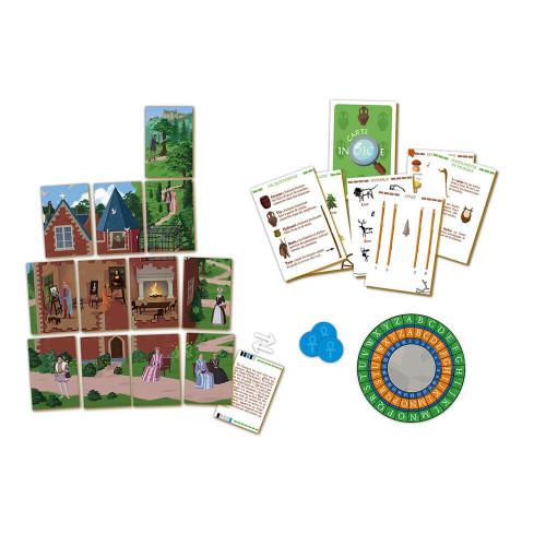 Jeu chasse au trésor Histoire, jeu de société, éducatif, aventure et quête, pour enfant à partir de 9 ans JANOD