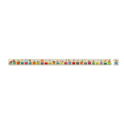 Valisette Puzzle Train alphabet 27 pcs