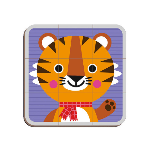Magnéti'book Mix & Match Animaux, magnétique, 72 magnets, aimants, éducatif, éveil pour enfant dès 3 ans JANOD