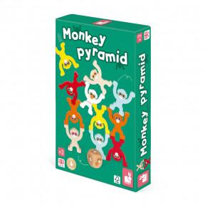 Monkey Pyramid Game