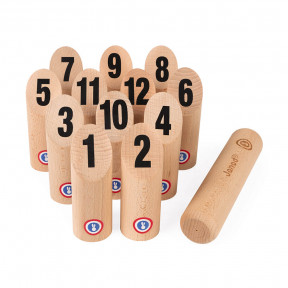 Set di birilli in legno