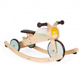 Tricycle 2 en 1 à bascule