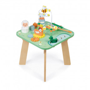 Pretty Meadow Activity Table (wood)