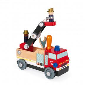 Camion de pompiers Brico'kids